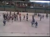 Russian Youth Hockey Team Brawl