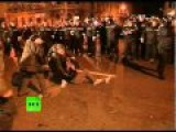 Romania Clashes Video: Anti-cuts Protests Turn Violent In Bucharest