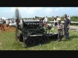Rolls Royce Merlin Static Engine Run