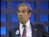 Ron Paul On Morton Downey Jr. 1988 Discussing Drug Legalization