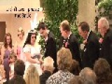 Ring Bearer Faints During Wedding Ceremony