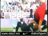 Referee Involved In Double Attack Tackle