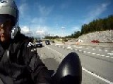 Rotating GoPro - Cool Footage On Motorcycle In BC, Canada