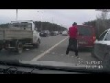 Roadrage In Russia