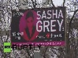Russia: Ex-porn Star Sasha Grey Visits Russia's Far-east
