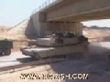 Rare Video: Disabled Abrams In Iraq