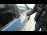 Russian Homemade Car Touch Lock