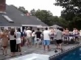 Roof To Pool Jump Attempt