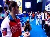 Russia's Aliya Mustafina Wins AA At European Championships