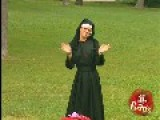 Sexy Nun Needs Help To Dress-Up TV Prank