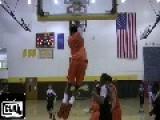 Seventh Grade Michael Jordan Type Plays Real Ball