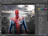 SpeedART The SpiderMan Photoshop CS6 |HD|