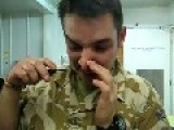 Snorting Copenhagen Snuff - Afghanistan