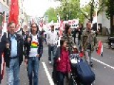 Syria - Frankfurt, Germany Great Supporting March For Assad In The 1 May Demonstration!