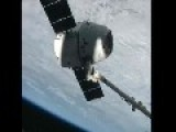 SpaceX Dragon Carrying NASA Cargo Arrives At International Space Station - HD