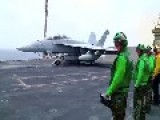 Super Hornet Launch USS Enterprise