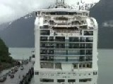 Sapphire Princess Entering Skagway