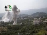 SAF Bombing 4 Positions In Salma