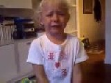 Spanish Girl Cries Because Of The Quit Of Llorente From Athletic De Bilbao Soccer Team