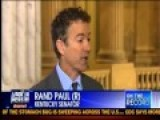 Sen. Rand Paul On Fox's On The Record W Greta Van Susteren - 1 24 13