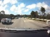 Speeding Lamborghini Crashes