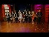 SNSD Performed The Boys On 'Live! With Kelly' '12. 2. 1
