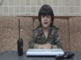 Syria - FSA Leather Speech 20 07 LOL