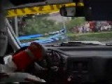 Some Old School Rally Driving With Pure Engine Sound