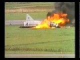 Swedish Fighter Explodes In Flames
