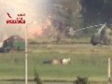 Syria - FSA Rebels Attack Meng Military Airport 17 05 -7 VIDEOS -