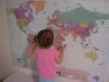 Smart 2 Years Old Girl Beats You At Geography