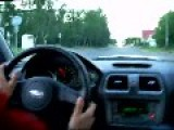 Subaru Impreza - Polish Driver Got Crazy