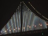 San Francisco Bay Bridge......LED Art Display