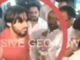 Shahid Afridi Slaps And Punches Fan At Karachi Airport