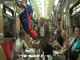 Spiderman Is Being A Dick In Warsaw, Poland