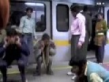 Sucks To Be A Male Indian Train Commuter
