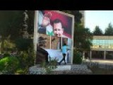 Syria - Students In Damascus Rip Up A Picture Of The Dictator 7 12 2012