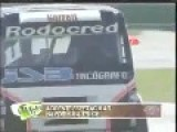 Spectacular Crash From Truck Racing