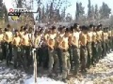 Syria - Sons Of The Dessert Free Islamic Army -training In The Snow ... LOL