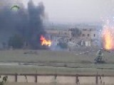 Syrian Sunni Arab Freedom Fighters Bring Meng Airfield Under Fire: Aleppo Governate