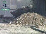 SAA Tanks Under Fire