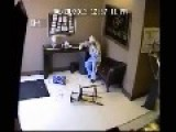 Store Owner Knocks Out Robber With A Baseball Bat!