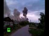 Strong Explosions Rock Ammo Depot Storing 13mn Shells In Russia