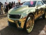 Super Car With Gold!