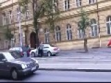 Strange Road Rage In Czech Republic