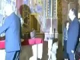The Czech President Arrives Drunk At A Ceremony In St Vitus Cathedral: Prague