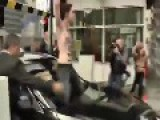 Topless Femen Activists Attack The Car Of Tunisian PM
