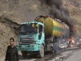 Taliban Torch NATO Tankers Killing At-least 4