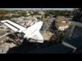 Time-lapse: Space Shuttle Endeavour's Final Journey Squeezes Through L.A. Streets