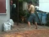 Thai Kick Boxing Fail